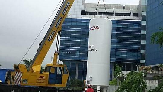 Coronavirus outbreak: BMC installs huge liquid oxygen tanks at 20 places including key hospitals in Mumbai