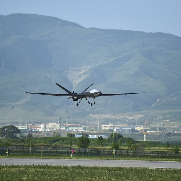 China-developed Wing Loong UAV capable of serving emergency communication