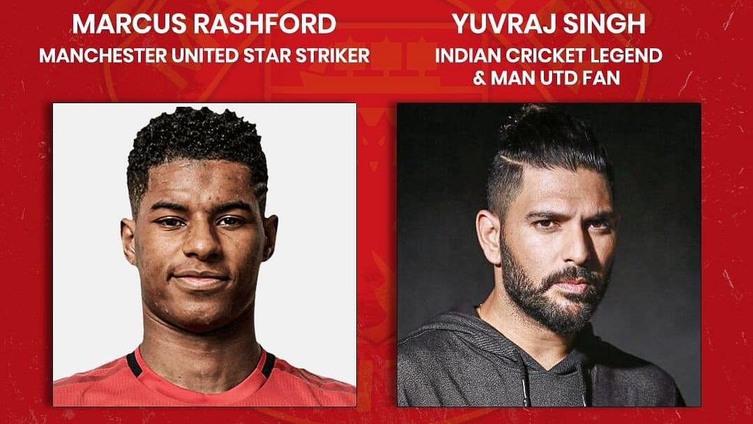 Yuvraj Singh to join Man Utd striker Marcus Rashford for live interaction session on June 13 at 6 PM