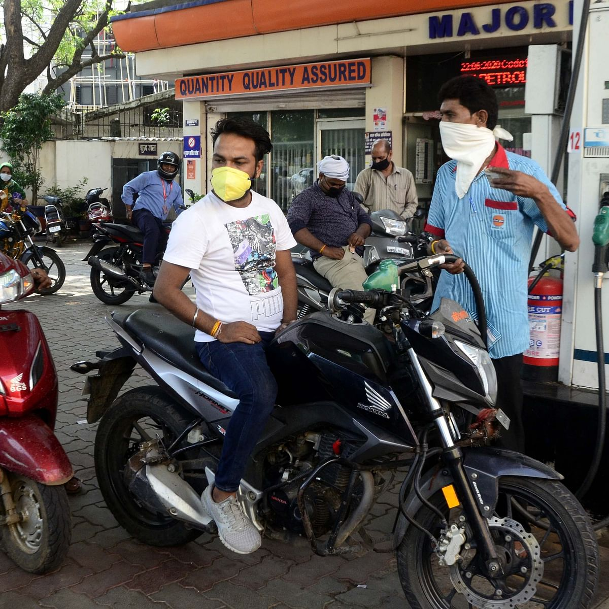 Bhopal: Fuel prices burn hole in common man's pocket