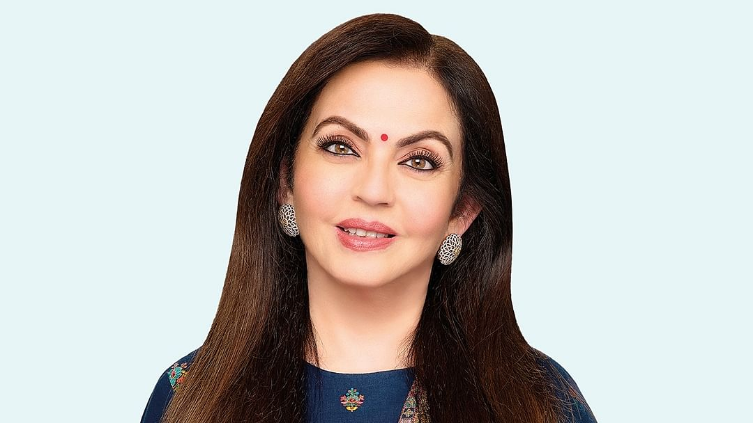 Nita Ambani recognized among top philanthropists of 2020