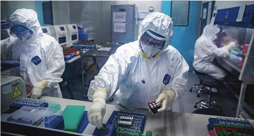 Chinese researchers develop device to inactivate COVID-19