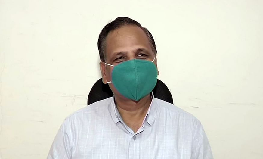 Delhi Health Minister Satyendar Jain tests positive for COVID-19