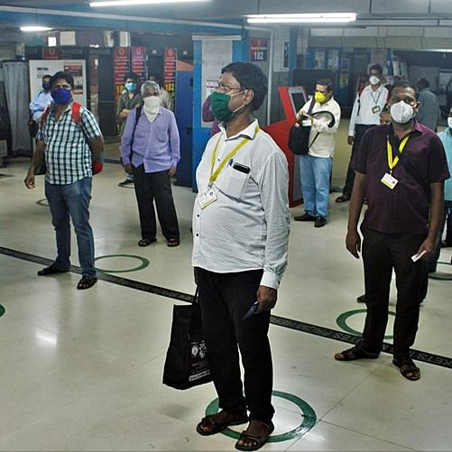 Mumbai local trains: essential service workers express frustration with the long wait for thermal screening, ID checks