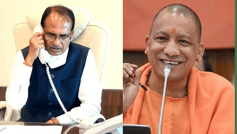 Shivraj Singh Chouhan dials Yogi Adityanath after gangster Vikas Dubey held in Madhya Pradesh's Ujjain