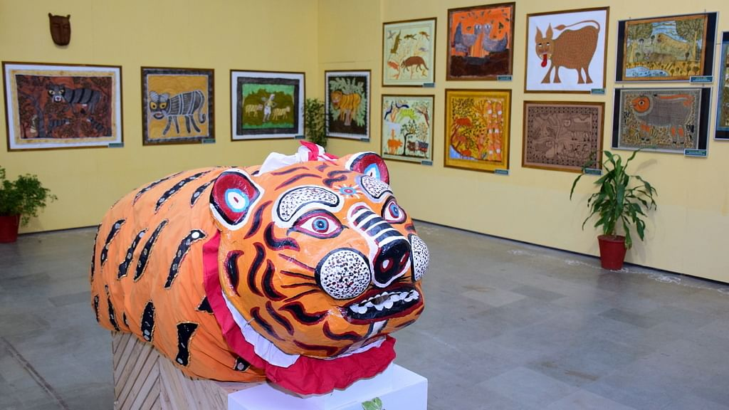 Global Tiger Day:  Bhopal's IGRMS organises online exhibition 'Lore of the Roar', awares people about tiger protection