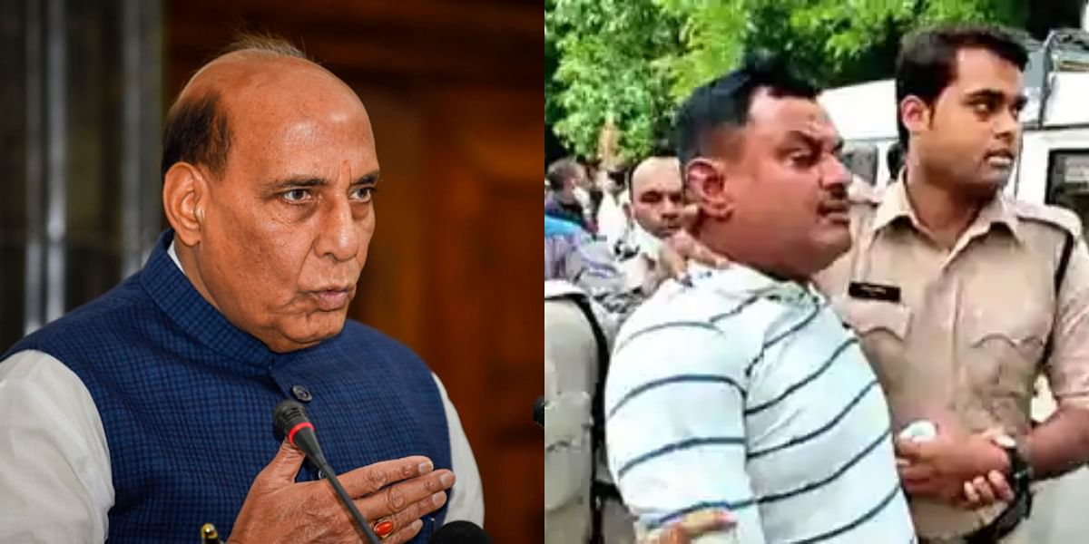 When Vikas Dubey shot Rajnath Singh's minister and walked free