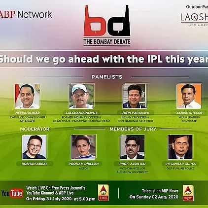 Watch: ABP Network and The Free Press Journal present The Bombay Debate at 5 PM