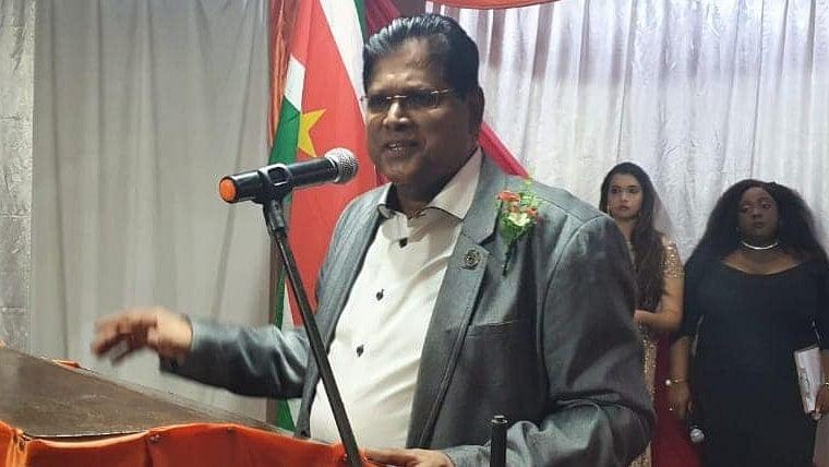 Meet Suriname's new Indian-origin President Chandrikapersad Santokhi who took oath in Sanskrit holding Vedas