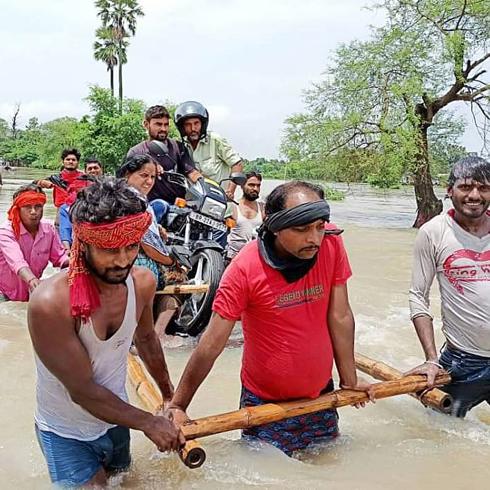Bihar flood situation remains grim, more than 83.62 lakh people affected in 16 districts
