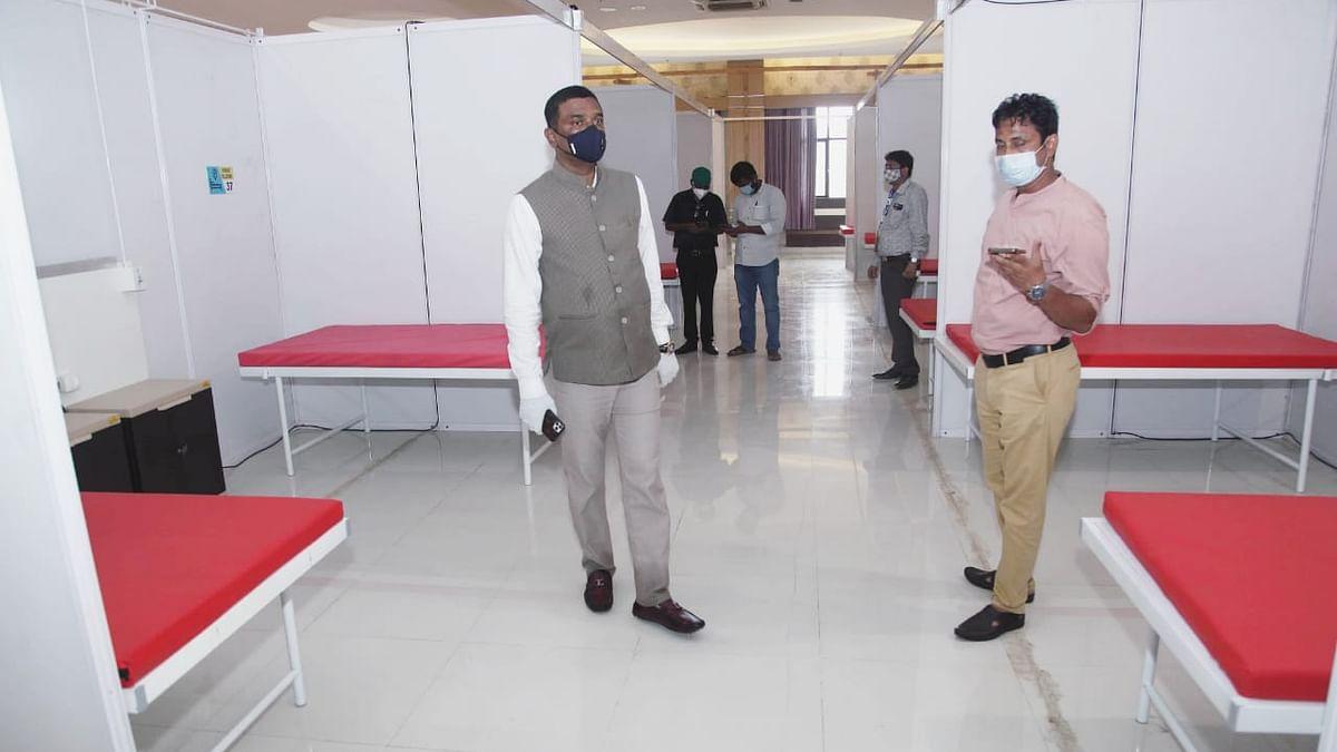 Dedicated COVID-19 health centre