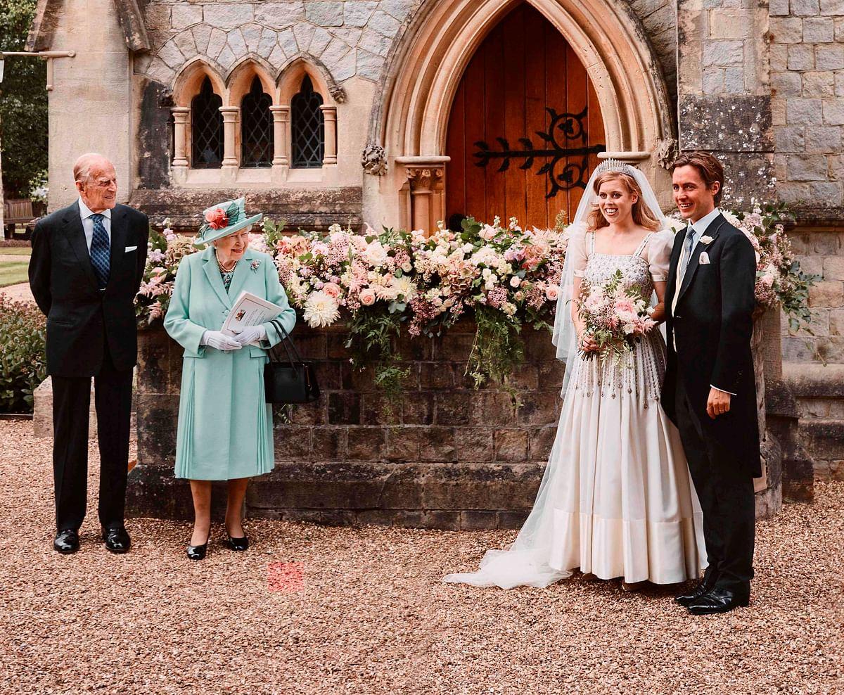 Behind the scenes of Princess Beatrice's secret wedding