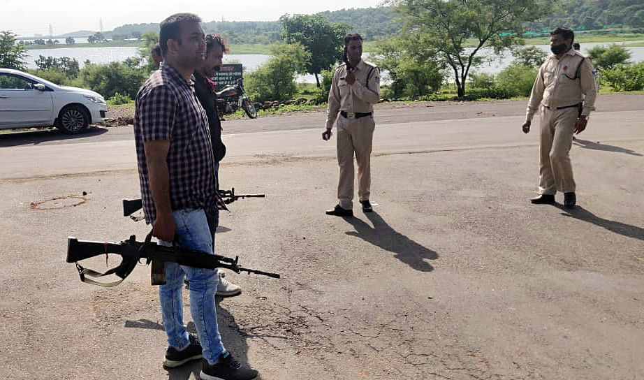Three miscreants held after encounter with police in UP's Greater Noida