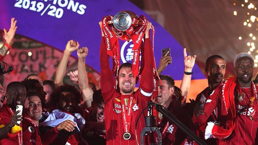 Liverpool captain Jordan Henderson fulfills 'childhood dream' after lifting Premier League trophy