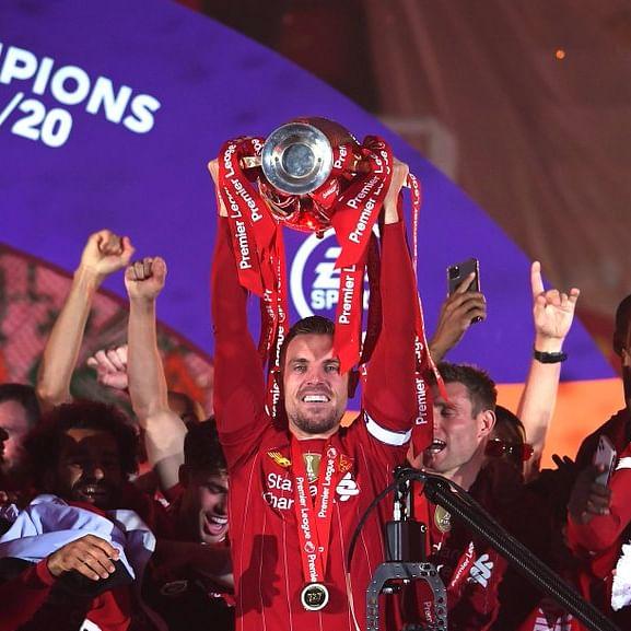 Liverpool captain Jordan Henderson fulfills 'childhood dream' of lifting Premier League trophy