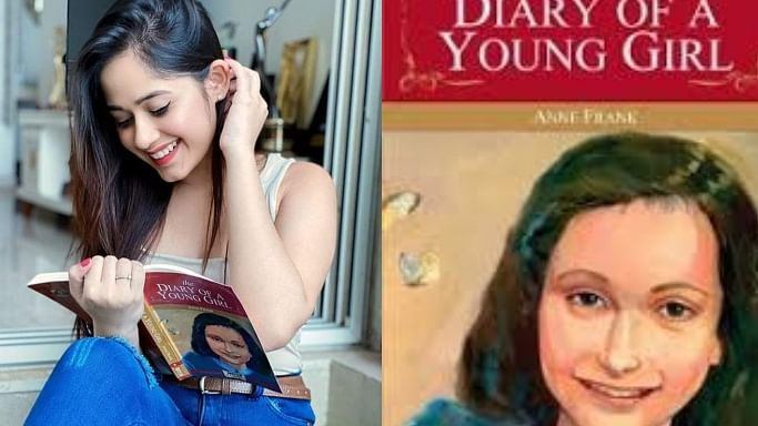 TikTok star Jannat Zubair gets trolled for smiling pic with Holocaust tragedy 'The Diary Of a Young Girl'