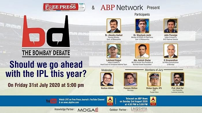 The Bombay Debate: Don't miss it today at 5 PM