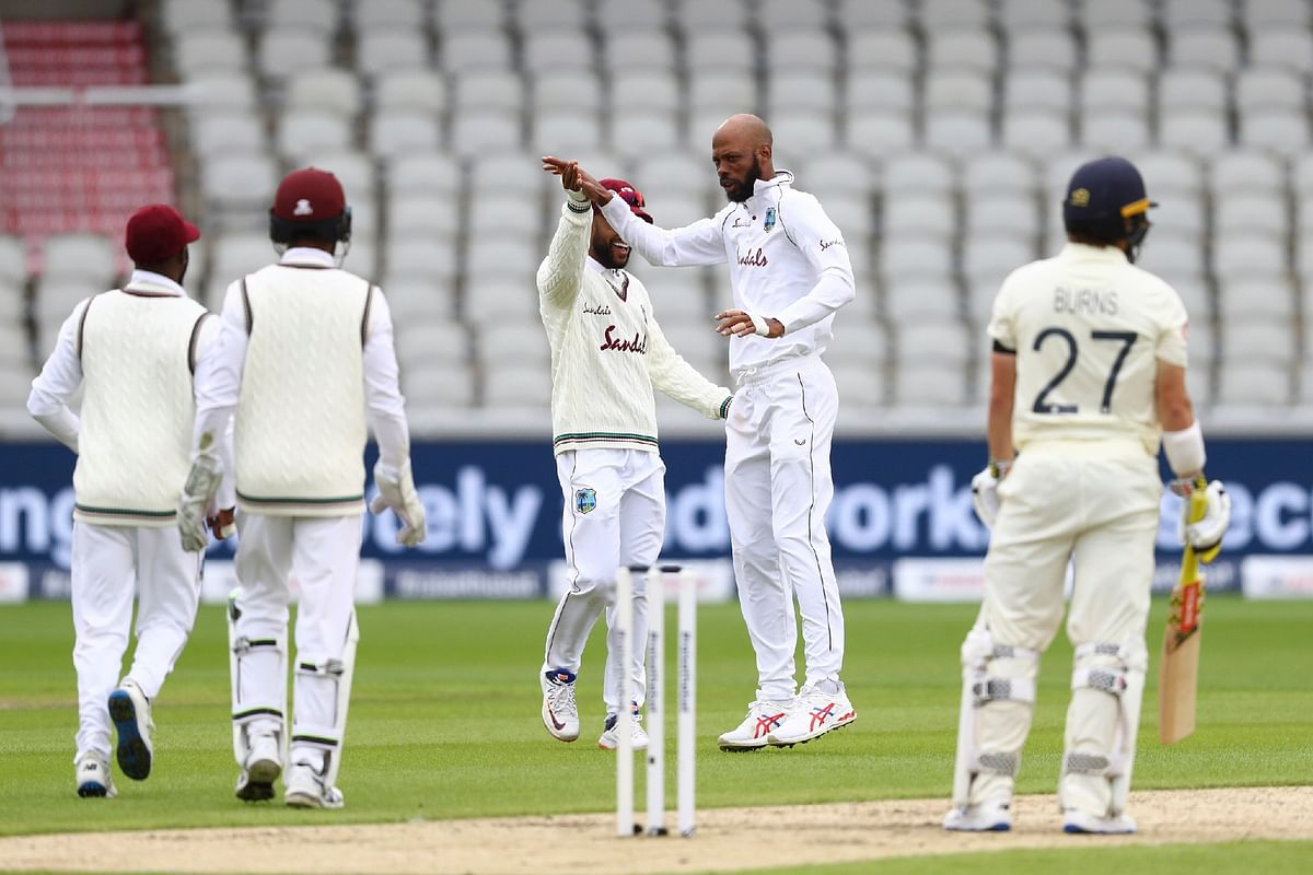 England-West Indies put on a safe and spectacular show, writes Ayaz Memon
