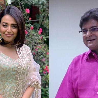 'Creepy uncle seems jobless': Swara Bhasker on IAS Sanjay Dixit rating her a 'C' grade actress