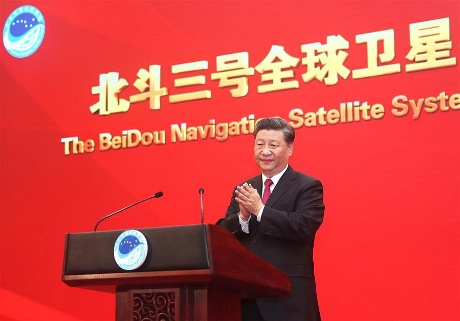 Xi Jinping officially announces commissioning of BDS-3 navigation system