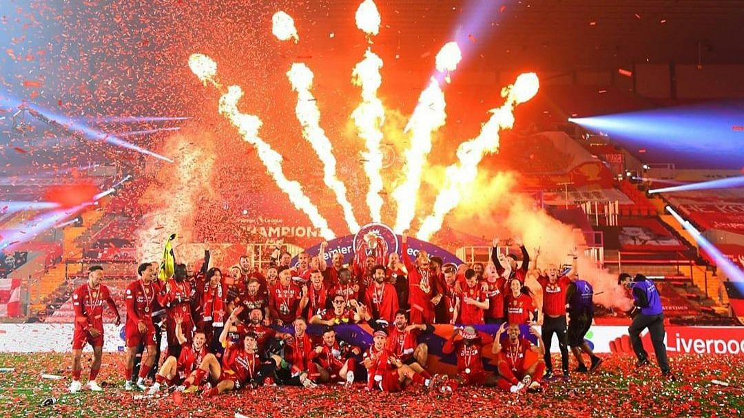 'Living the Liverpool dream': Netizens react as Reds lift Premier League trophy after 30 years