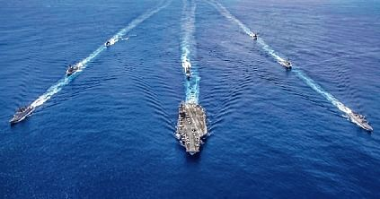 Eye on China, India & US conduct naval drill off Andamans