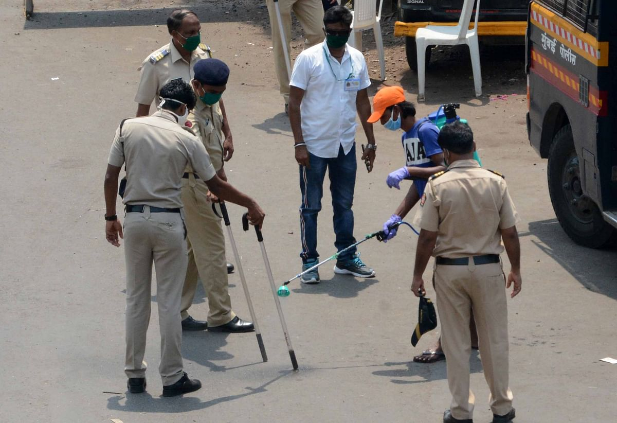 Over 300 attacks on Maharashtra cops reported since COVID-19 lockdown