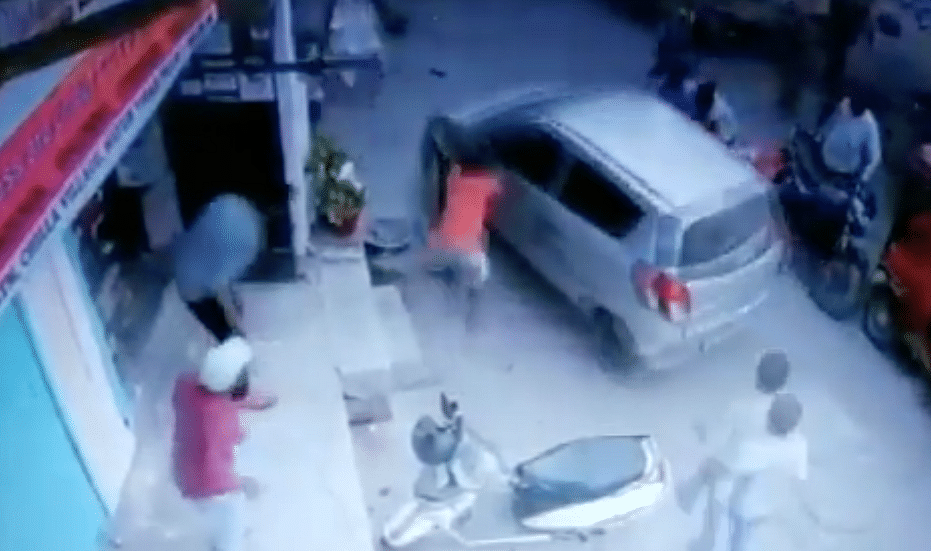 Delhi crime: Shocking footage of drunk cop running over woman in city's Chilla Village goes viral