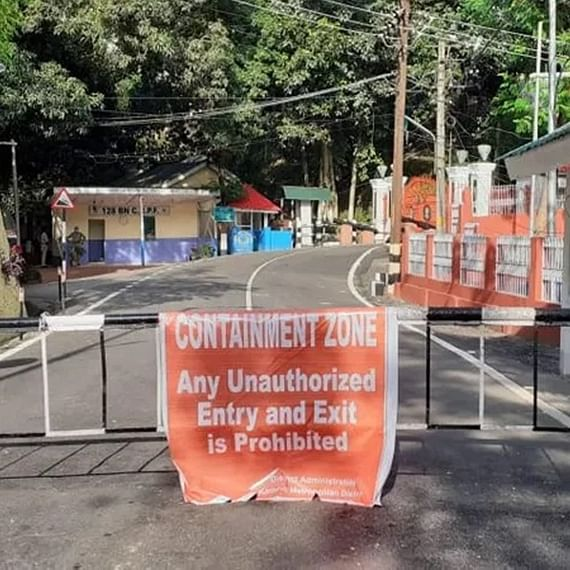 Assam Raj Bhavan Campus declared containment zone after detection of COVID-19 positive case