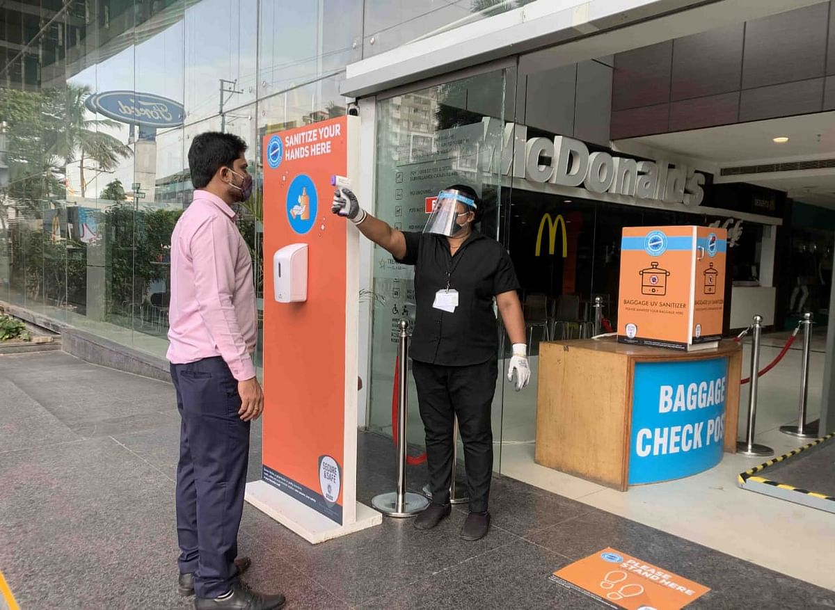 Indore: Malls opened, but it's strict mall practice
