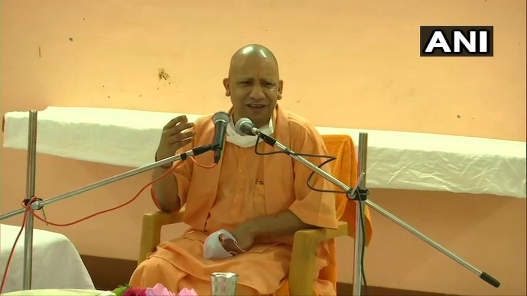 Yogi Adityanath holds review meeting; says Ram temple foundation event on most auspicious day in 500 years