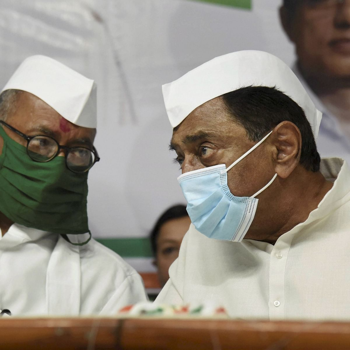 Madhya Pradesh: Kamal Nath, Digvijaya express faith in Sonia Gandhi's leadership