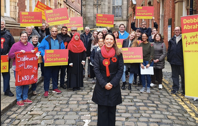 Meet anti-India Labour MP Debbie Abrahams - who went on ISI-funded trip to PoK