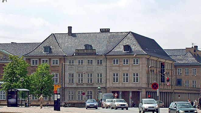 The Prince's Mansion in Copenhagen. Home of the National Museum of Denmark