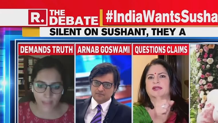 Watch: TV actor Kunika Lal called out for mocking 'Patna people' on Arnab Goswami's show