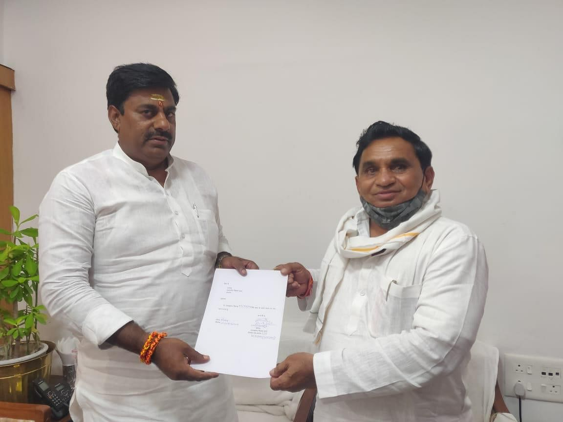 Congress MLA from Mandhata, Narayan Patel resigns from his membership of the Legislative Assembly.