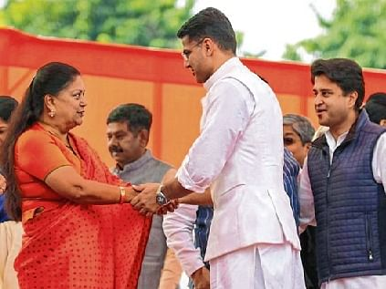 Is Vasundhara Raje's absence damaging BJP's chances?