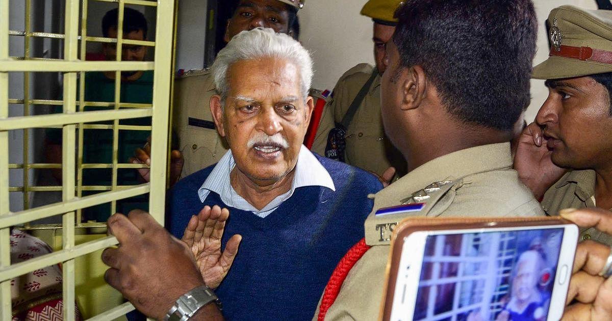 Varavara Rao taken to JJ hospital for 'checking fitness'