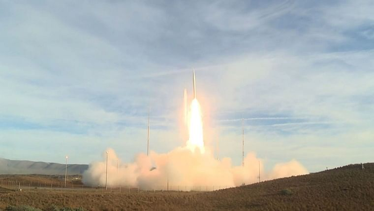 Iran launches underground ballistic missiles during exercise
