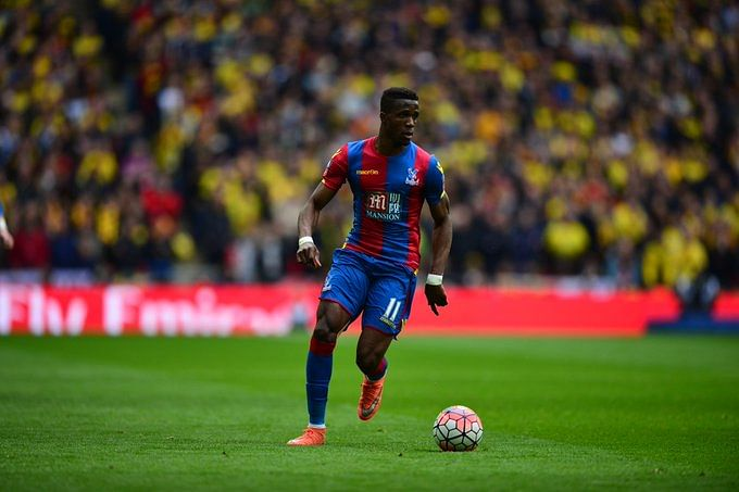 Crystal Palace footballer Zaha subjected to online racial abuse