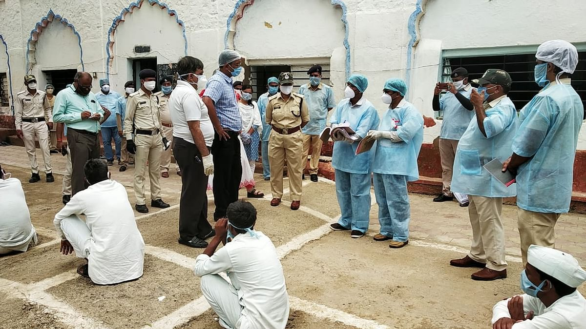 Ujjain: Collector suspends Bhairavgarh jail doctor for negligence after 8 inmates test positive