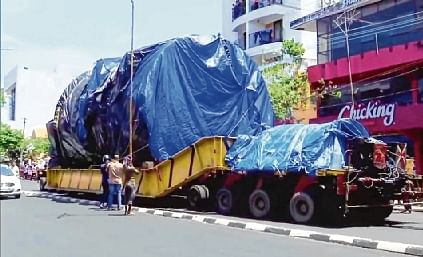 Machine for space takes a year to arrive in Kerala