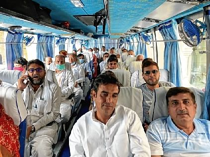 54 Congress MLAs shifted to Jaisalmer