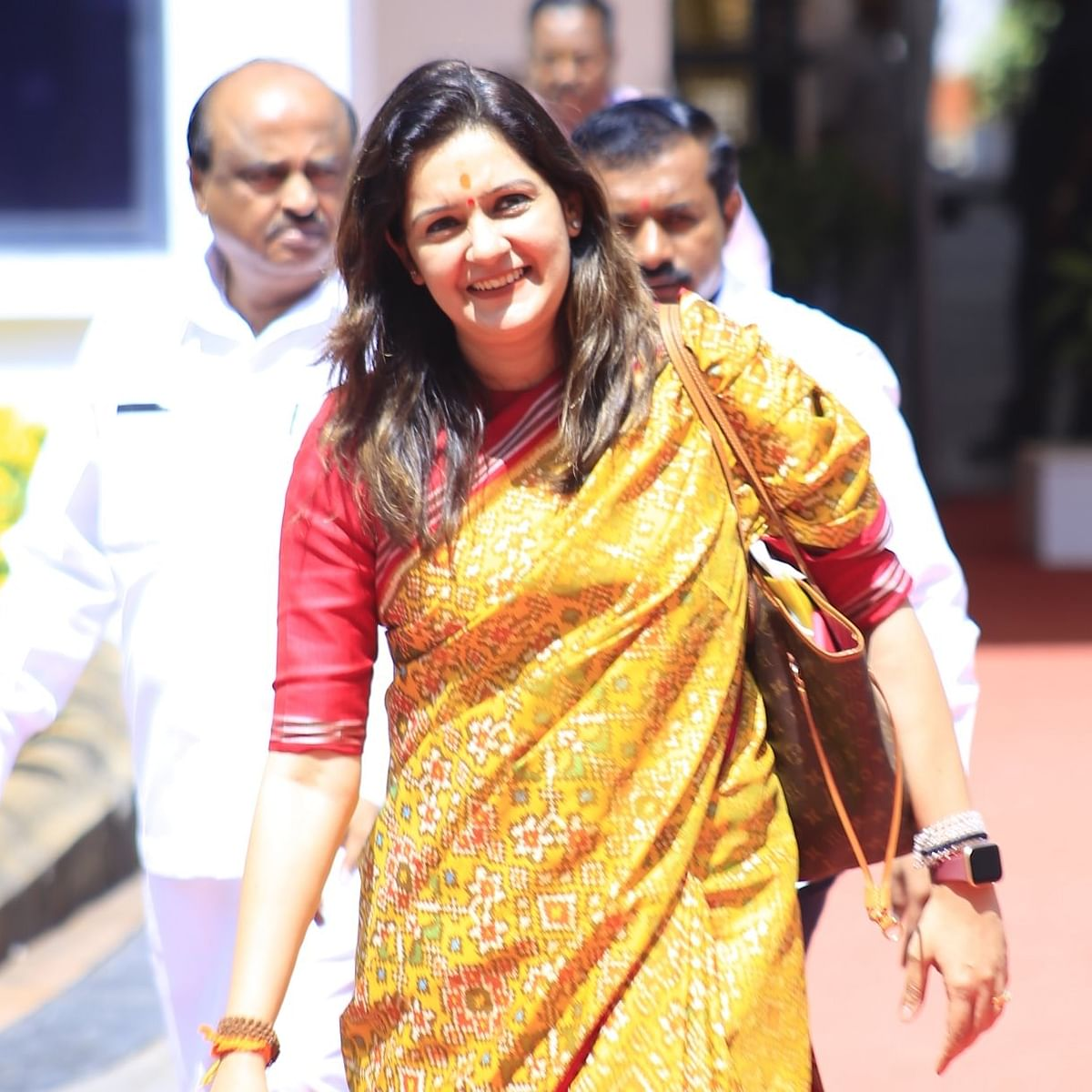 Mumbai: Sena MP Priyanka Chaturvedi thanks Centre for opening COVID-19 vaccination for every adult