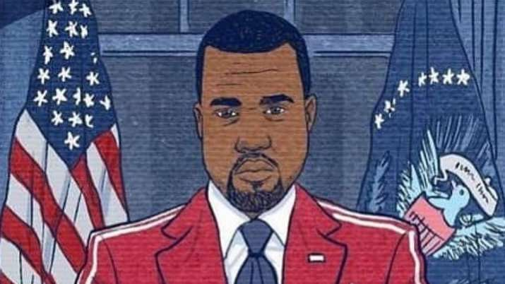 Rapper Kanye West running for White House