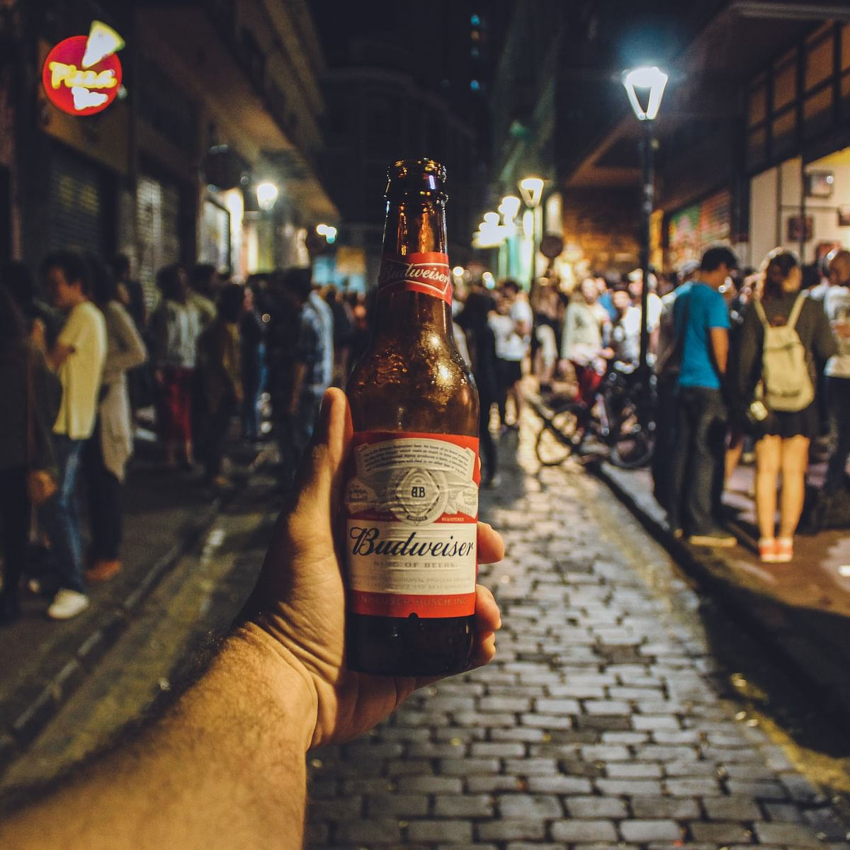Budweiser - how many calories are there in one bottle?