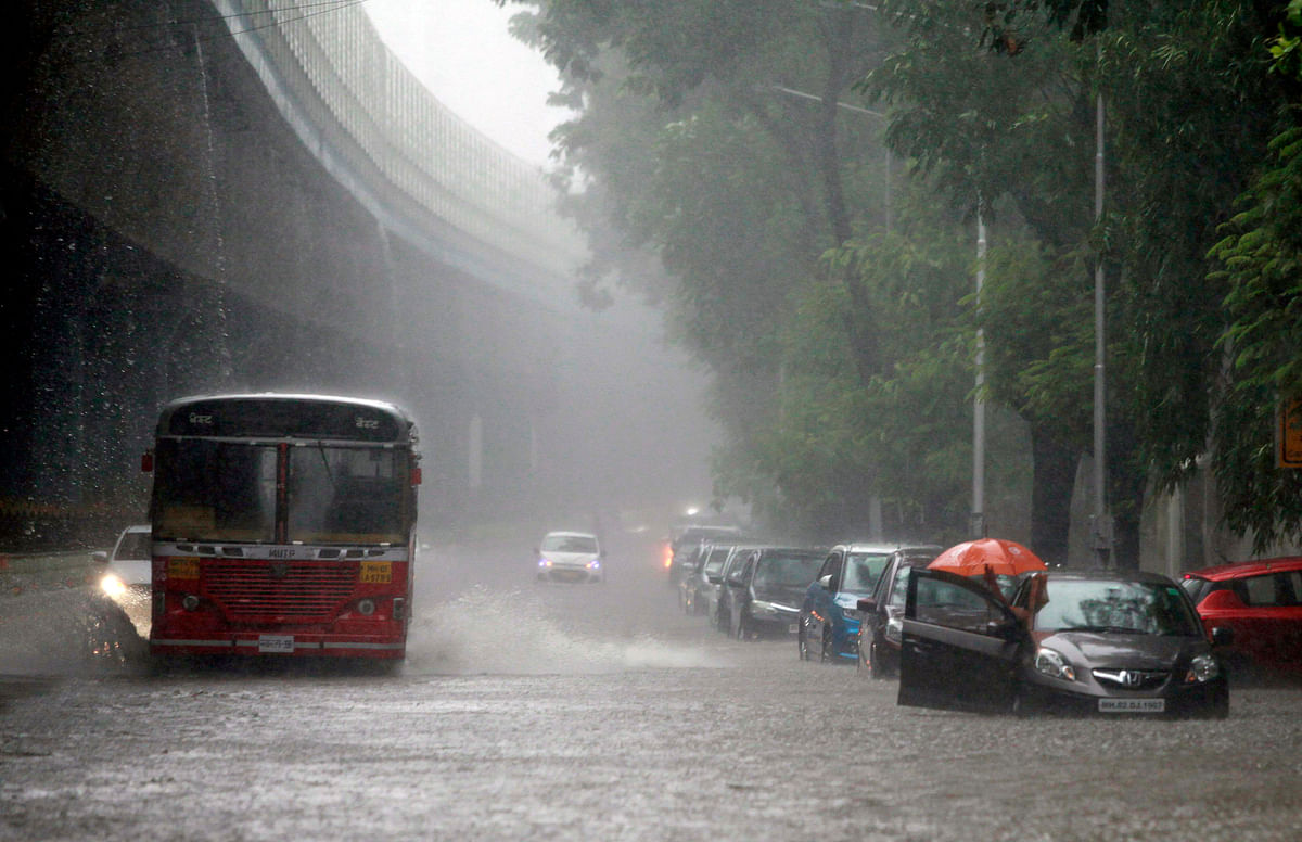 Mumbai Rains: Heavy rainfall lashes city for second consecutive day