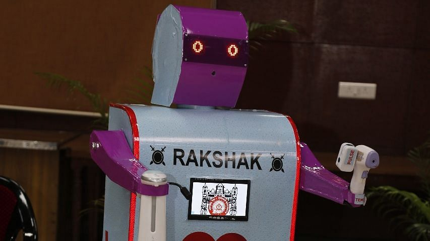 Mumbai: Meet new health assistant robot - Rakshak designed by Central Railway