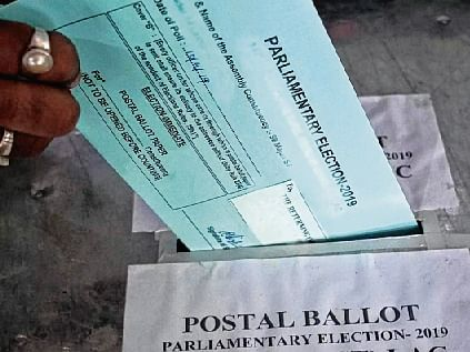 Election Commission decides against postal ballot for those above 65 years