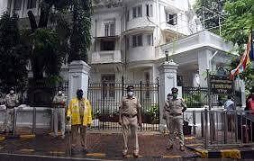 'Rajgruha', Dr. Babasaheb Ambedkar's house in Dadar.